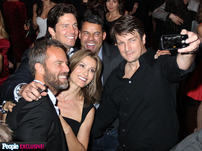 #SELFIE TIME photo | Nathan Fillion