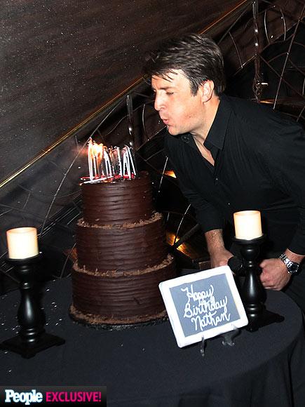TAKING THE CAKE photo | Nathan Fillion