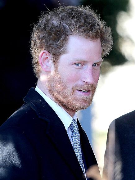 HE'S FUR REAL photo | Prince Harry