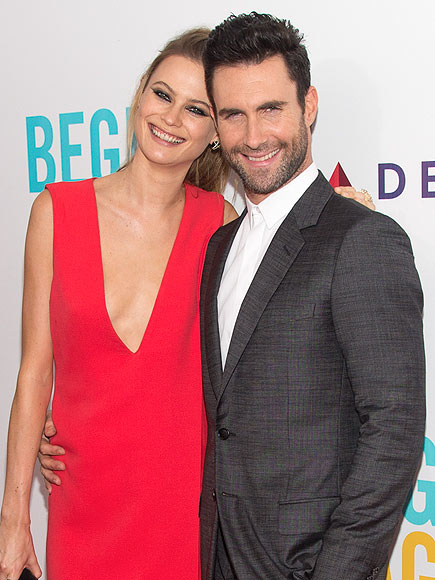 Adam Levine: Being Married Makes Me Feel 'More Masculine'| Maroon 5, Couples, Marriage, Adam Levine, Behati Prinsloo, Ryan Seacrest