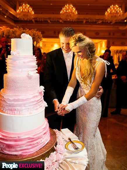 Eric Trump & Lara Yunaska's Wedding Album - PRETTY IN PINK ...