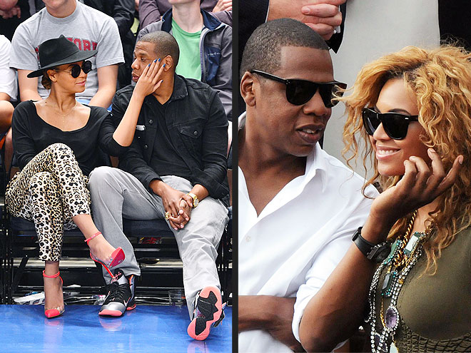 BEYONCÉ & JAY-Z: CHEEK CARESSERS photo | Beyonce Knowles, Jay-Z