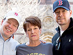 The Wahlberg Family's Boston Marathon Photo D