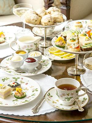 Windsor Court Afternoon Tea