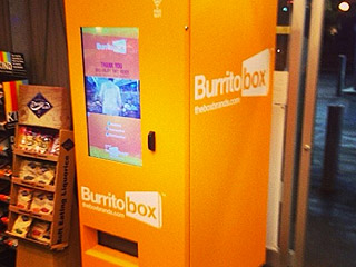 Burrito Box Vending Machine
