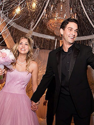 Kaley Cuoco Wedding Menu