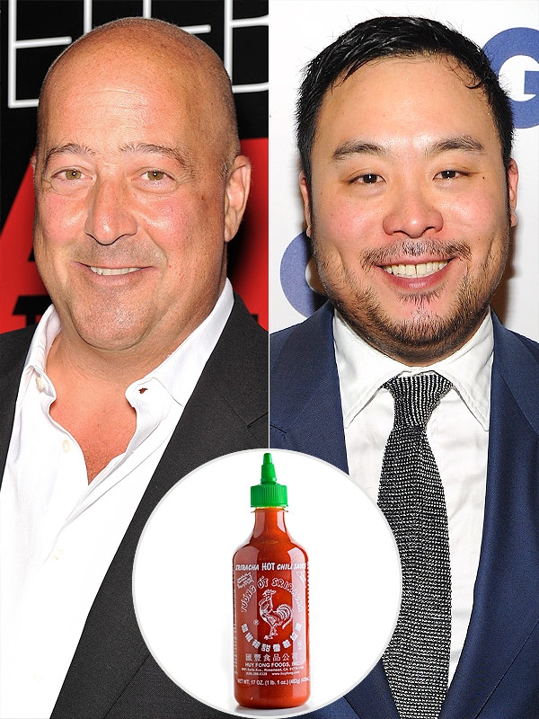 Andrew Zimmern, David Chang Debate the Merits of Sriracha