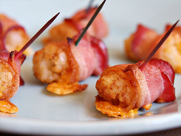 Top 10 Bacon Wrapped Recipes: Smokies, Tater Tots, Asparagus and More ...