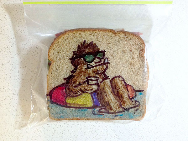 Sandwich Bag Dad
