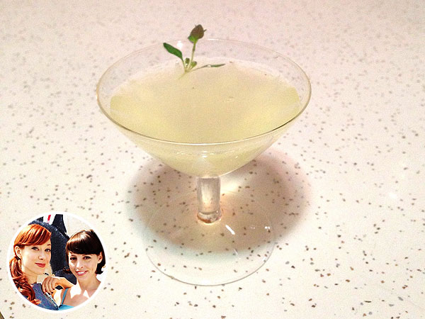 Alie & Georgia Gordon Ramsay Lemon Thyme Cocktail