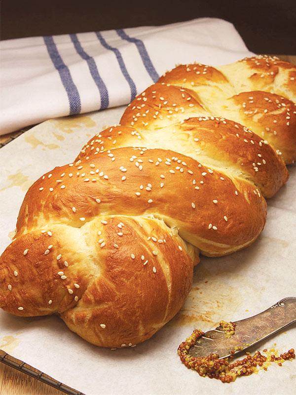 Mayim Bialik Challah Bread Recipe