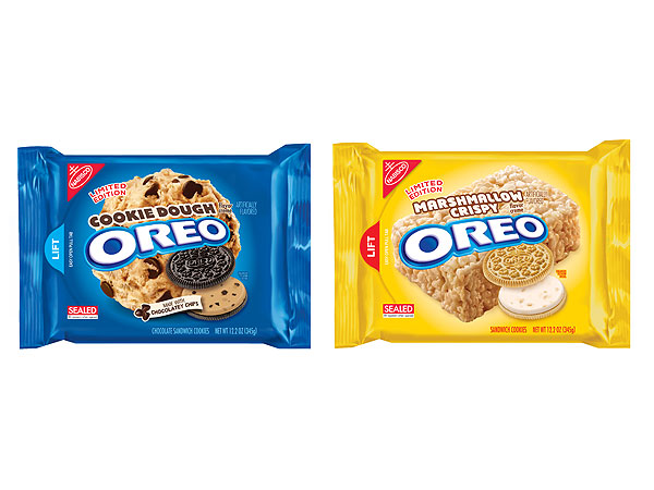 Cookie Dough and Marshmallow Crispy Oreo Flavors