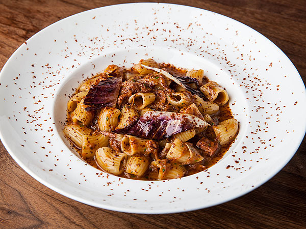 All'onda Chocolate Pasta Duck Ragu
