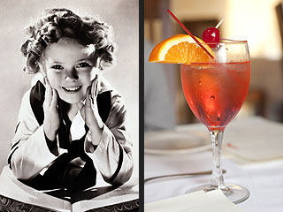 Toast to Shirley Temple with Her Signature Drink