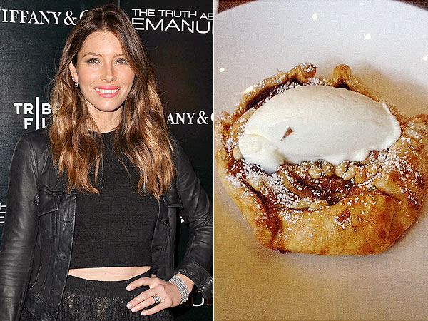 Jessica Biel Au Fudge Restaurant Menu