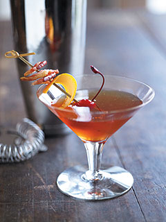 Bacon Manhattan Cocktail