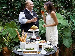 Mario Batali Shares Easy, Elegant Oscar Party Recipes