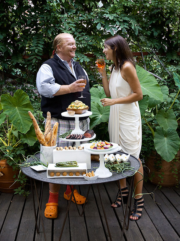 ! Mario Batali and Mary Giuliani's Elegant Oscar Party Recipes