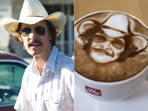 Oscar Nominees Latte Art
