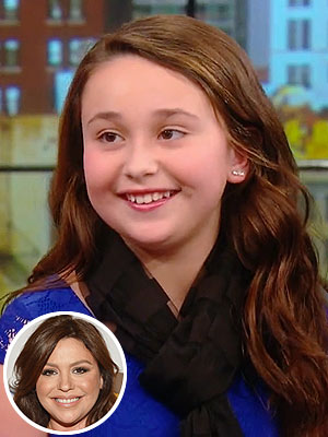 Rachael Ray Show 11-Year-Old Cupcake Baker