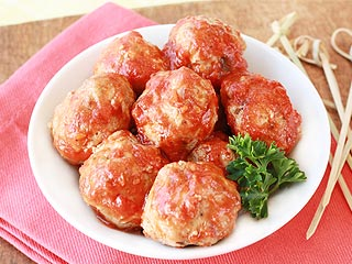 Low-Fat, Light Meatballs Recipe