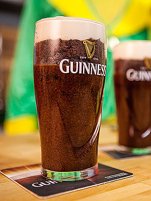 Cake in a Guinness Pint Glass