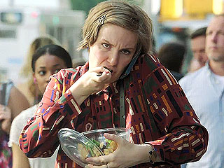 Lena Dunham Girls Stress Eating