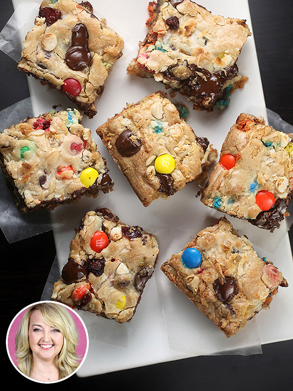 Bakerella Monster Cookie Bars