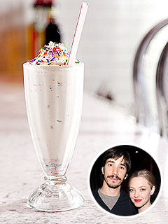 Amanda Seyfried and Justin Long's Milkshake Recipe