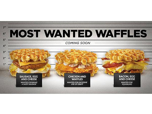White Castle Waffle Breakfast Sandwich