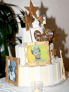 Doris Day Birthday Cake
