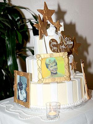 Doris Day Birthday Cake