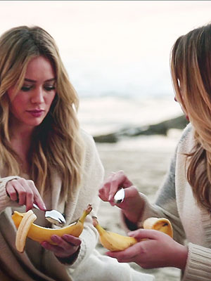 Haylie Duff's Grilled Banana Recipe