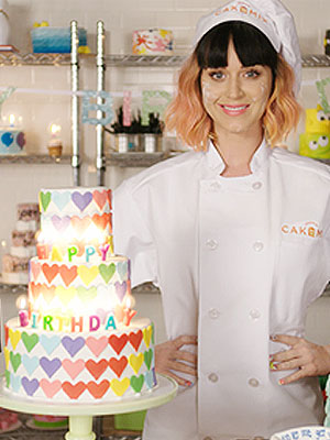Katy Perry Birthday Video