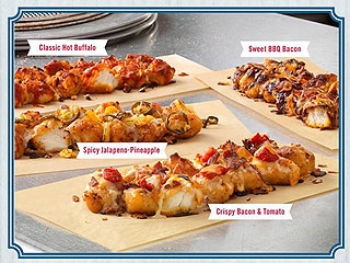 Domino's Fried Chicken Specialty Pizza