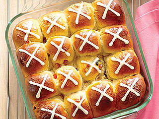Orange Hot Cross Buns Recipe for Good Friday