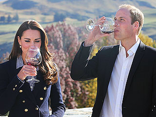 William and Kate: New Zealand Wine Tasting Menu