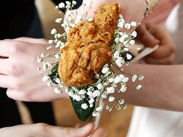 KFC Fried Chicken Corsage