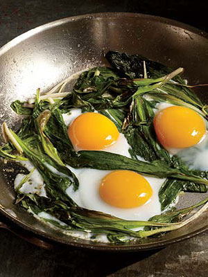 Buvette Ramps and Eggs Recipe