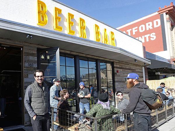 Ty Burrell Beer Bar