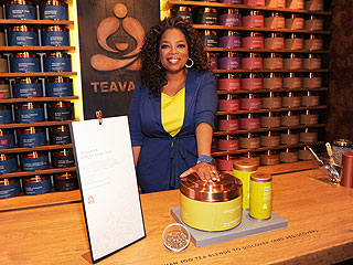 Oprah Surprises Patrons for Launch of Oprah Chai