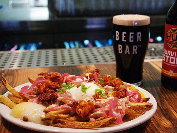 Ty Burrell Beer Bar Breakfast Poutine
