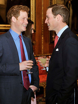 Prince Harry and William: BBQ in Memphis