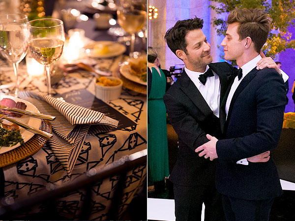 Nate Berkus Jeremiah Brent Wedding Reception Dinner