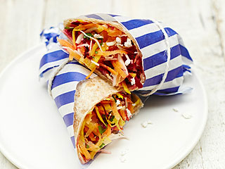 It's Jamie Oliver's Food Revolution Day! Make His Rainbow Salad Wrap