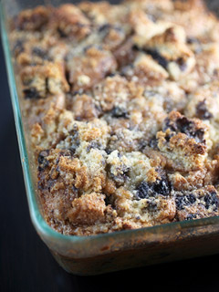 Bakerella's blueberry muffin bread pudding