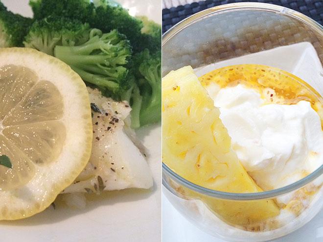 Kristen Taekman diet/dinner