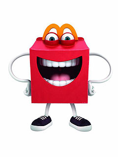 The new McDonald's Happy Meal mascot