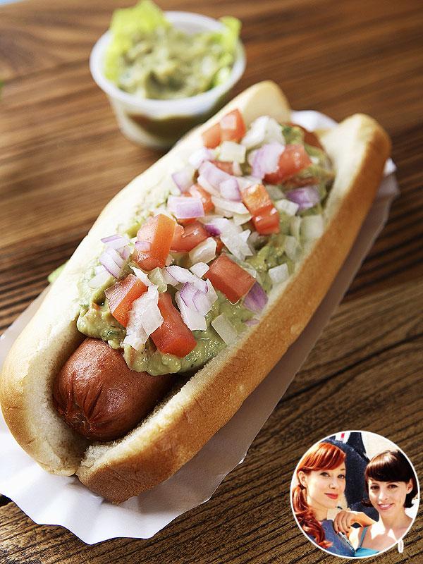 Alie & Georgia's creative hot dog toppings