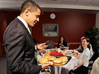 President Obama's burger tour